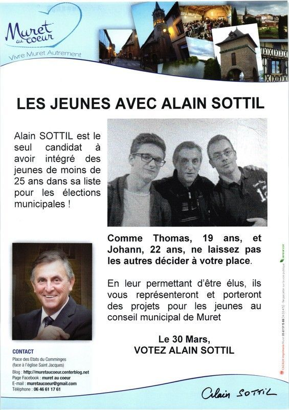 Les jeunes avec Alain Sottil
