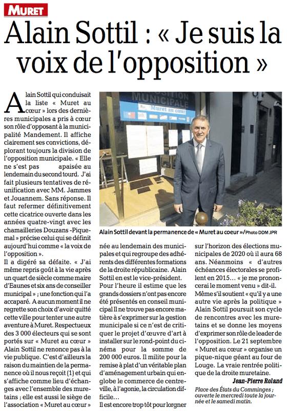 L'opposition Muretaine