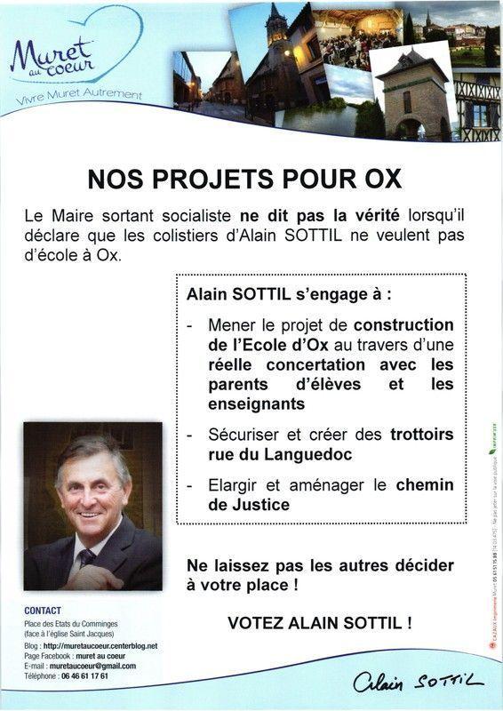 Projets pour OX